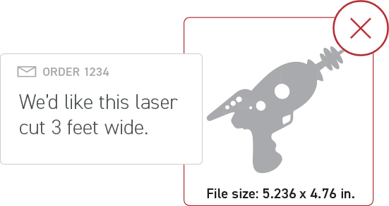 Scale Your Art to the Right Size for Design for Laser Cutting