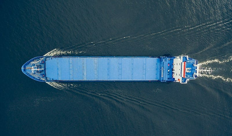 Off-shored products returning on a slow ship across the Pacific